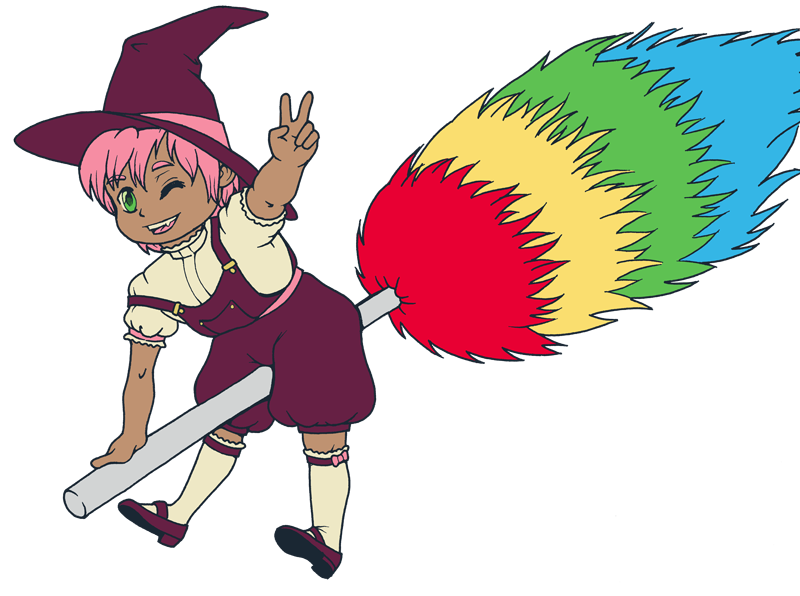Tiny Witch by Raikana
