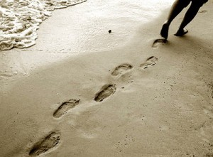 Beach-footprints2-300x221 by SueJOwen