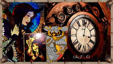 Steampunk-Design by SueJO