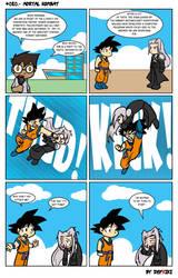 Sephiroth vs Son Gokuh by Defriki