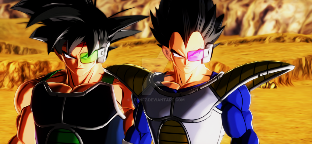 Bardock VS. Vegeta by LeonF7 on DeviantArt
