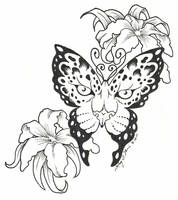Leopard Butterfly by BlvqWulph