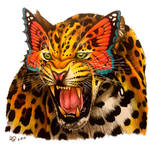 Leopard Butterfly - reimagined by BlvqWulph