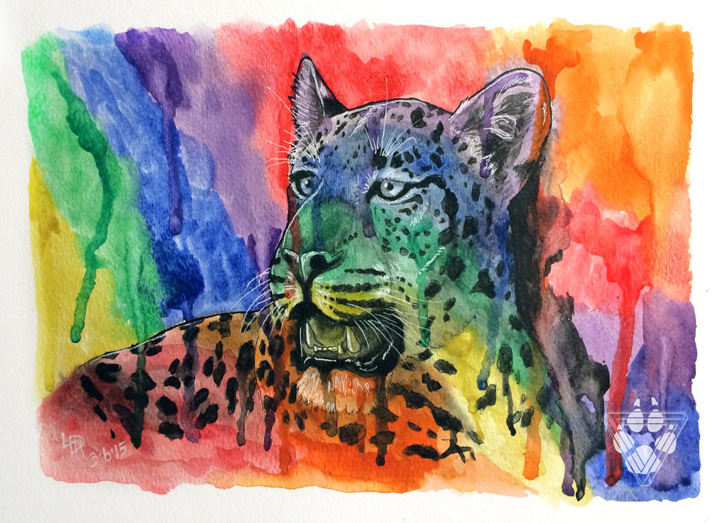 Panthera Pardus Prismus by BlvqWulph