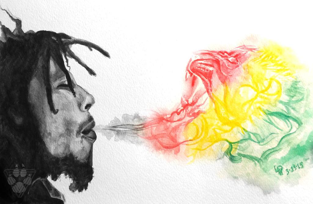 Bob Marley by BlvqWulph