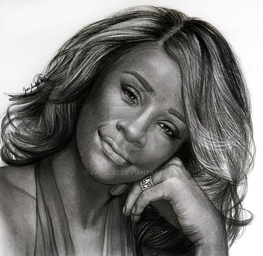 Whitney Houston by jardc87 on DeviantArt