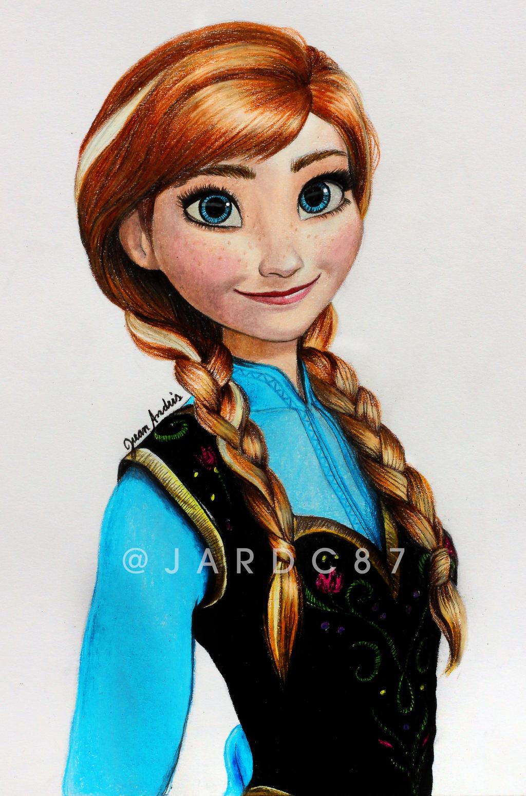 Princess Anna Of Arendelle By Jardc87 On Deviantart