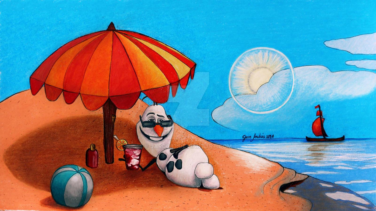 Uncategorized Drawings Of Summer drawing olaf in summer by jardc87 on deviantart jardc87