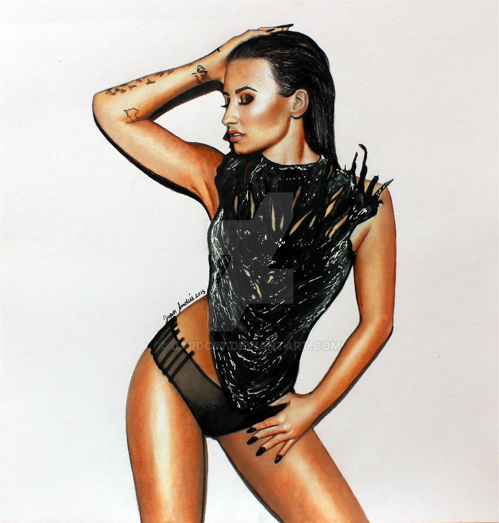 Confident Body Demi Lovato