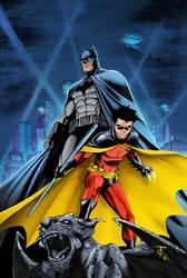 Batman and Robin Print by LegendaryRoz