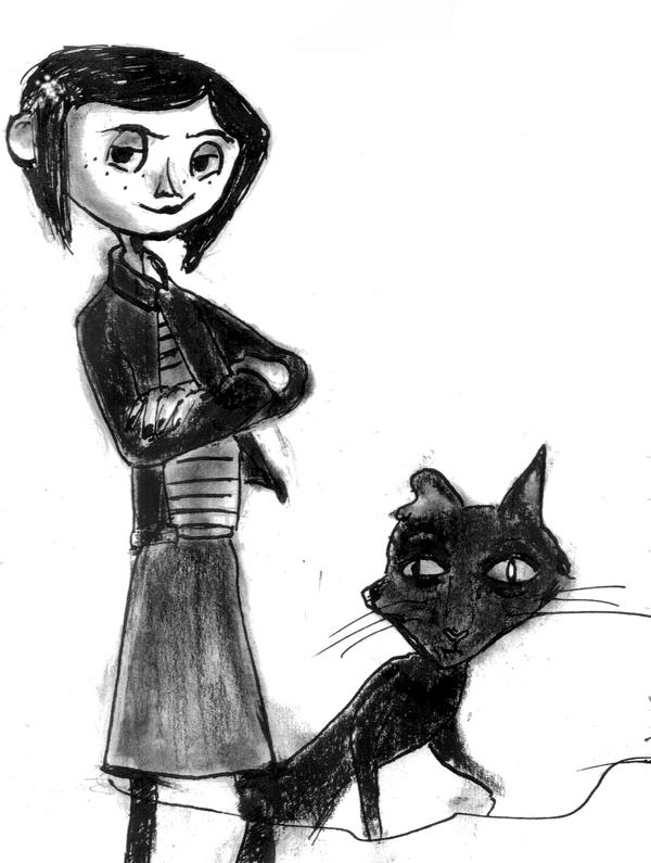 Tim Burton Coraline Drawing | www.pixshark.com - Images ...