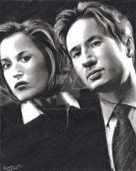 FTF Mulder Scully