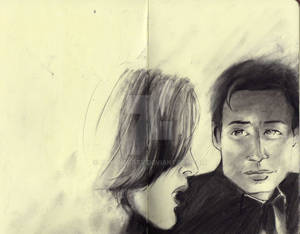 Mulder and Scully Comics style