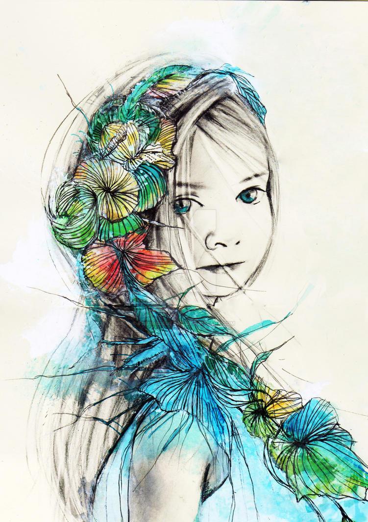 Flowers of Innocence by FleurBleueArt