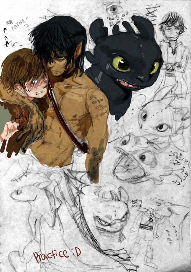 Hiccup X Toothless Fanfiction