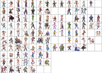 Pokemon gen 3 Trainer sprites in HGSS style - v0.8