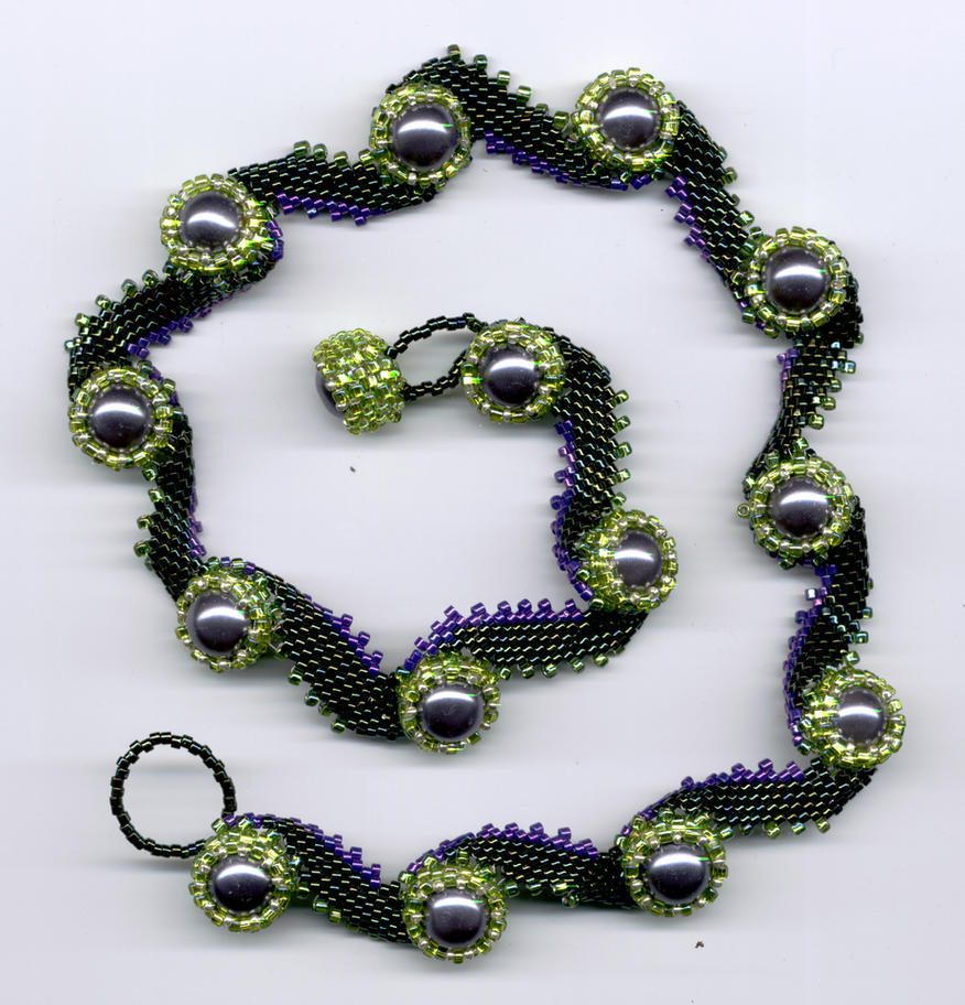 Nara Beads: Anemone Necklace By Beadg1rl On DeviantArt