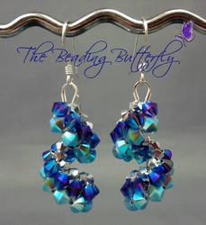 Purple Haze Vertigo Earrings