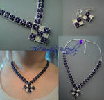 Crystal Fantasy Necklace Set