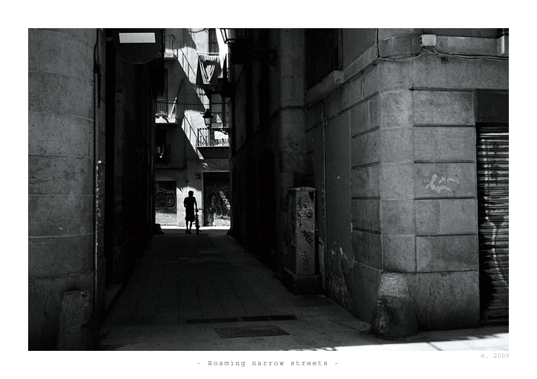 Roaming narrow streets by ESDY