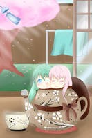 Relax with Luka and Miku