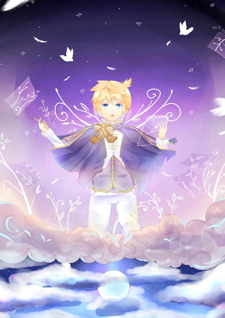In The Sky by Hirukuneko