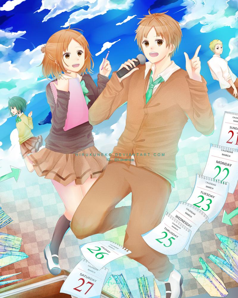 Ishuukan Friends ! by Hirukuneko