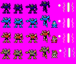 Mega Man 5 Ref Darkman + Bonus by BlueFirez88