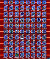 Robot Masters MM 1-10 Sprites by BlueFirez88