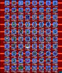 Robot Masters MM 1-10 Sprites