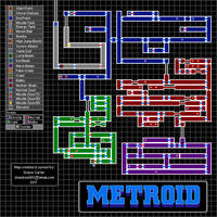 Metroid - Complete Map