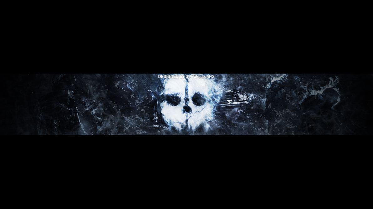 Call Of Duty Ghosts OneChannel YouTube BG By SUPERsaeJANG