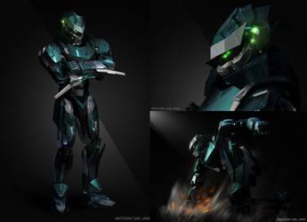 Max Blaze 3D by SUPERsaeJANG