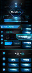 Sci-Fi UI by SUPERsaeJANG