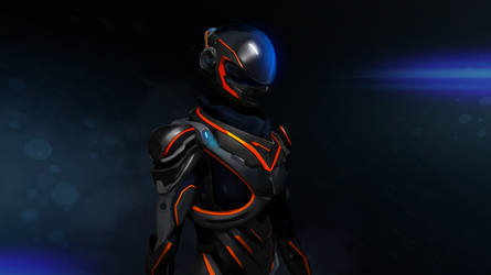 Fanart - Mass Effect Andromeda by SUPERsaeJANG