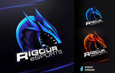 Rigour eSports Logo by SUPERsaeJANG
