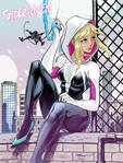 Spider Gwen and Miles