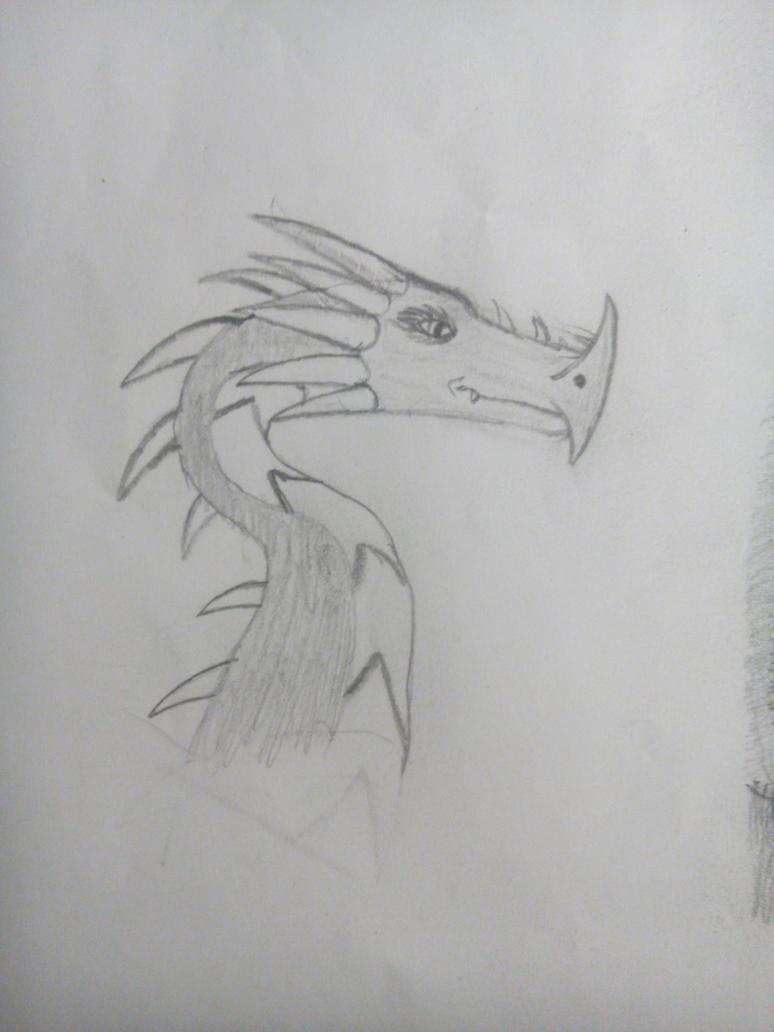 thorny dragon by Askilone