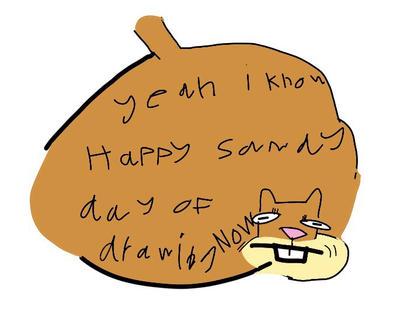 happy sandy day of by mario-felix17
