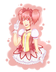 Madoka by WildFireStrife