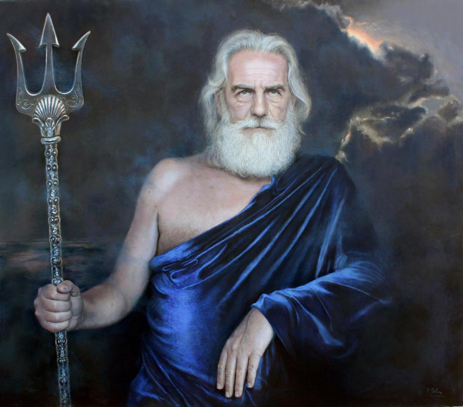 Poseidon by Benbe