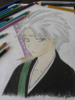 Hitsugaya Toshiro Fanart by Kiru-Yu