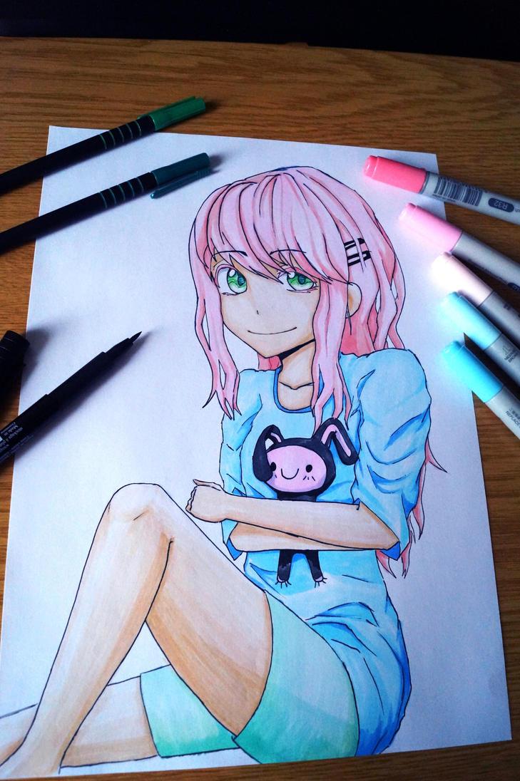 Copic Gal by Kiru-Yu