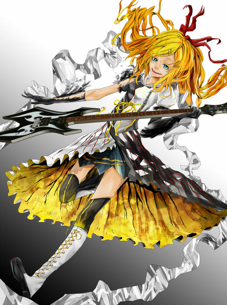 Kagamine Rin by Kiru-Yu