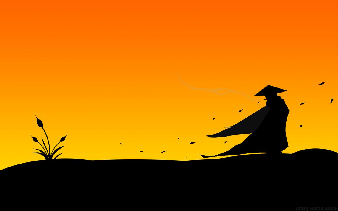 Wandering Samurai by cgas