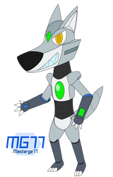 Xander the Robot Werewolf by Masterge77