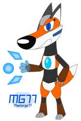 Riley the Robot Fox by Masterge77