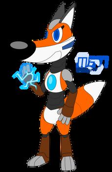 Riley the Robot Fox 2020