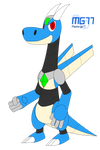 Jett the Robot Dragon by Masterge77