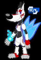 Emma the Robot Kitsune